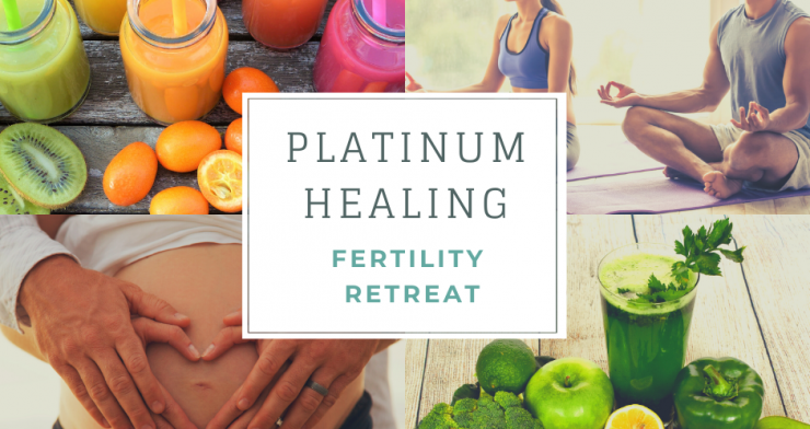 Fertility Retreat with Juicing, Yoga, Hypnotherapy in Glastonbury and Kent