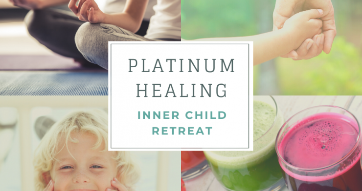 Inner Child Healing Retreat with Juice Detox and Yoga in Glastonbury and Kent