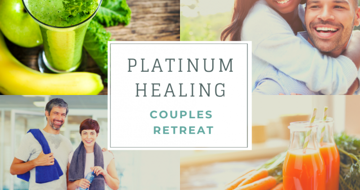 Couples Retreat with Juicing, Yoga and Couples Therapy in Glastonbury and Kent