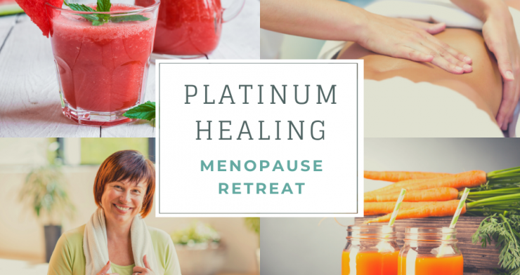 Menopause Retreat with Juice Detox, Yoga and Treatments in Glastonbury and Kent
