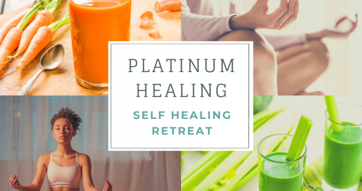 Self Healing Retreat with Juicing, Hypnotherapy, Yoga in Glastonbury and Kent