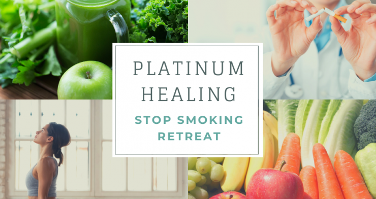 Stop Smoking Retreat with Juicing, Yoga Hypnotherapy in Glastonbury and Kent