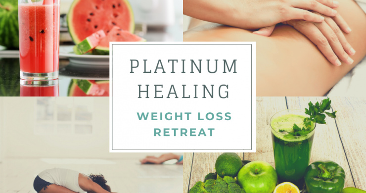 Weight Loss Retreat with Juice Detox, Yoga and Coaching in Glastonbury or Kent