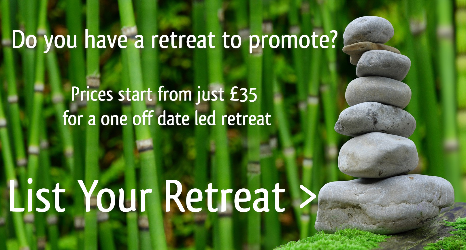 List Your Retreat