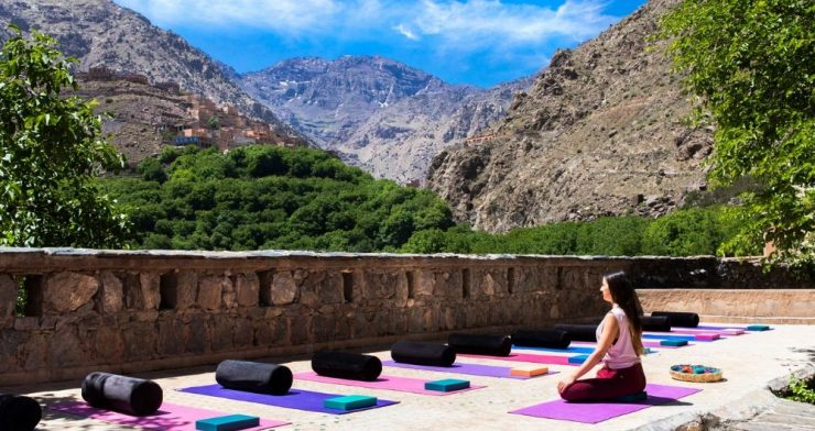 Hiking and Yoga Short Break in the Atlas Mountains, Morocco