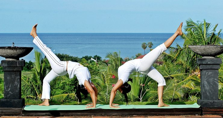 Sanctuary of Holistic Wellness, overlooking the ocean