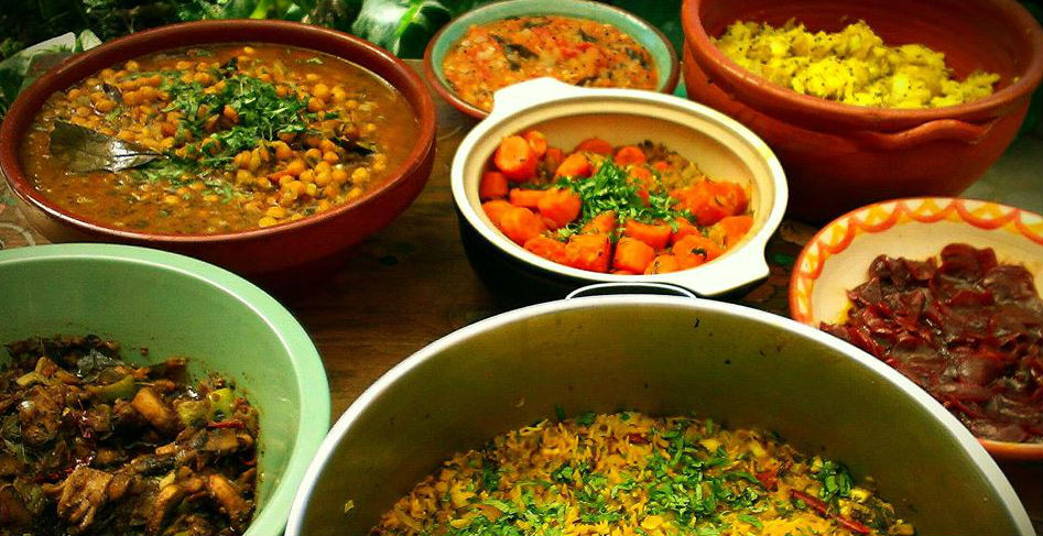 Food to nourish your body while on retreat with us