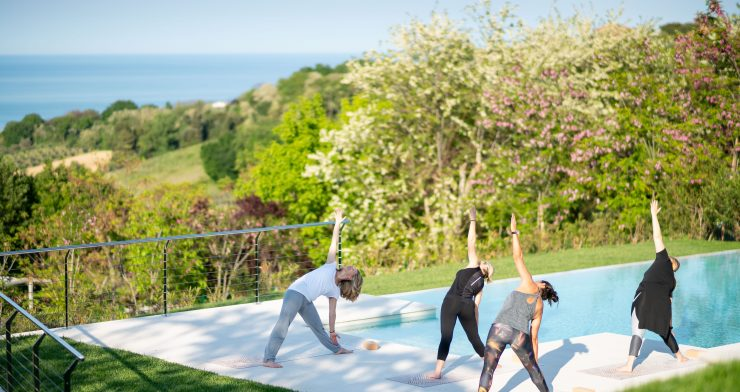 Oliveto Estate. Luxury venue hire for yoga, cookery & bespoke retreats