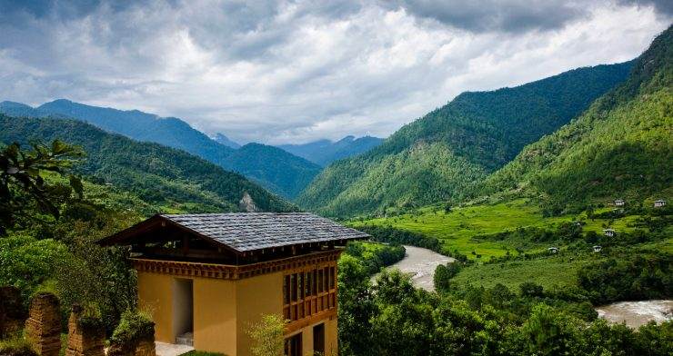 Intimate Hillside Retreat Overlooking the Punakha Valley, Bhutan