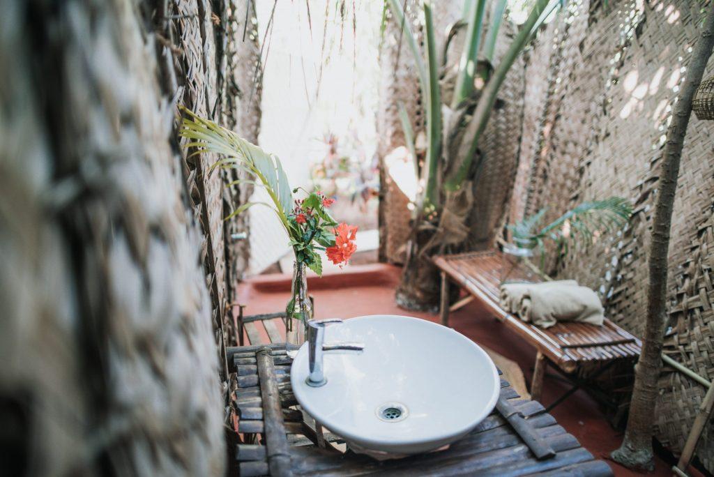 Wigwam Goa Outdoor Bathroom