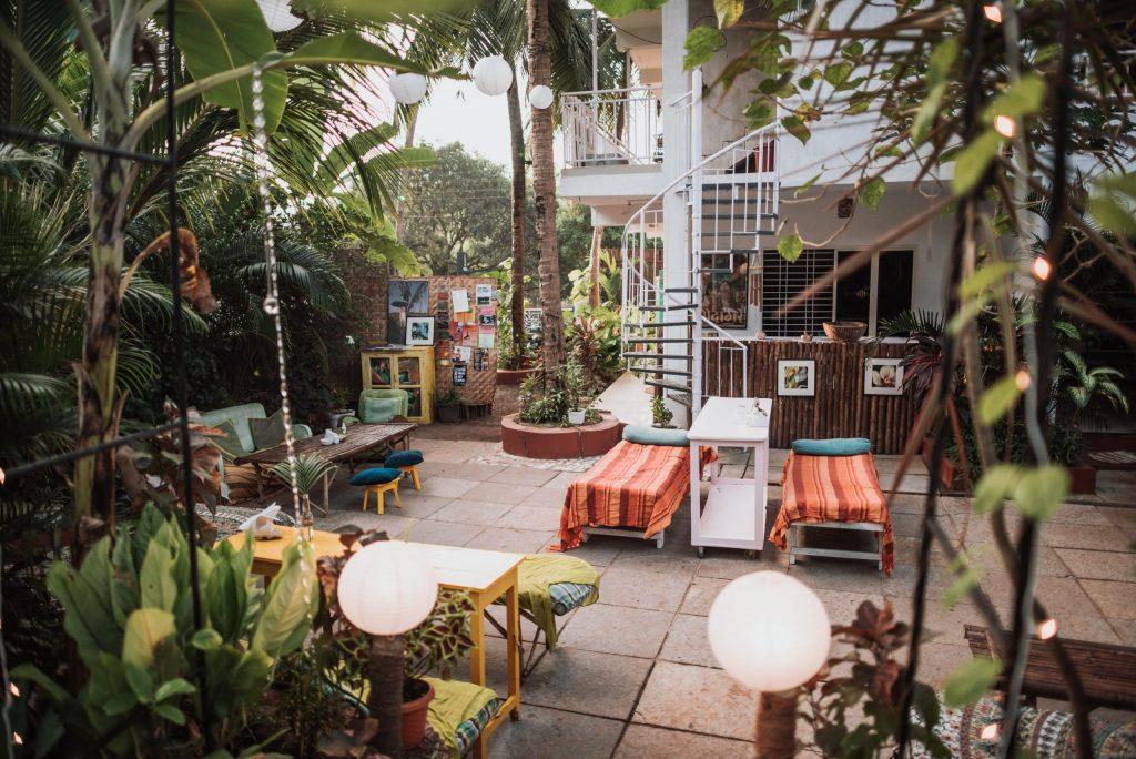 Wigwam Goa Garden Cafe