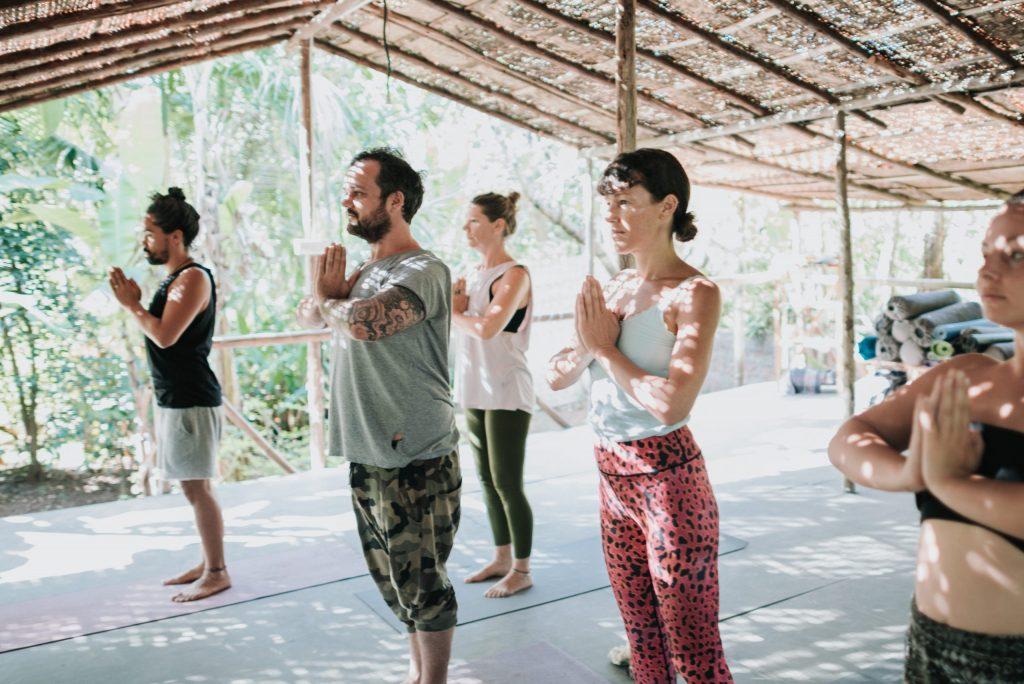 Yoga at Wigwam Goa