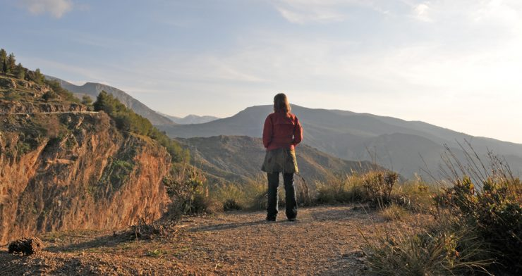 Easter Walking in the Spanish Mountains