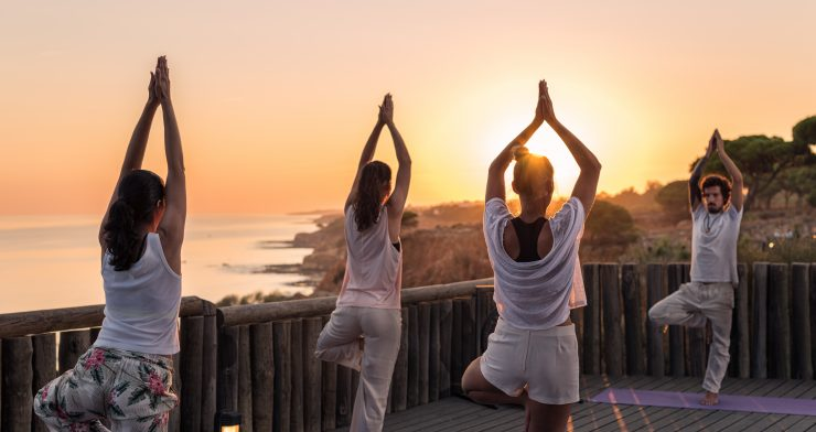 Yoga and Harmonization of the Chakras at Pine Cliffs, a Luxury Collection Resort