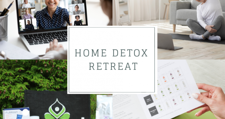 Home Detox and Healing Retreat with Organic Juice and Supplements Delivery