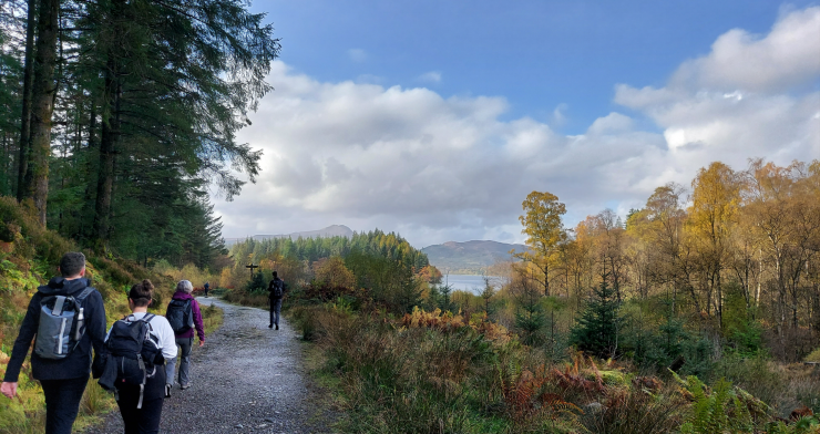 Outdoor Fitness Retreat in the Trossachs National Park