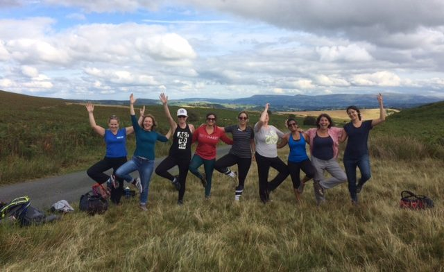 Hiking and Yoga Retreat Brecon Beacons, Wales