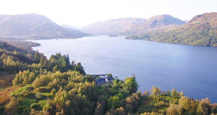 Luxury Yoga Retreat in the Trossachs National Park