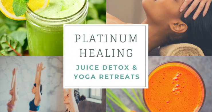 Juice Detox Retreat with Yoga, Meditation and Treatments in Glastonbury and Kent